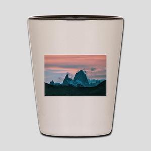 Mount Fitz Roy, Patagonia, Argentina at Shot Glass