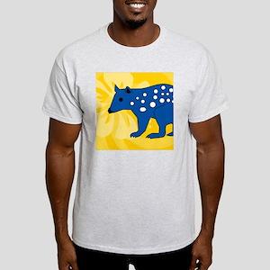Quolls Square Car Magnet 3 x 3 Light T-Shirt
