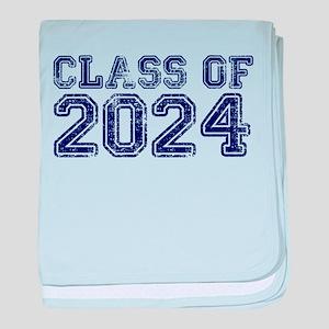 Class of 2024 baby blanket