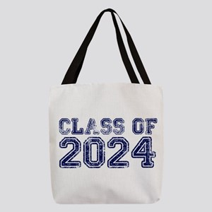 Class of 2024 Polyester Tote Bag
