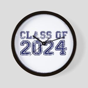 Class of 2024 Wall Clock