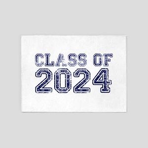 Class of 2024 5'x7'Area Rug