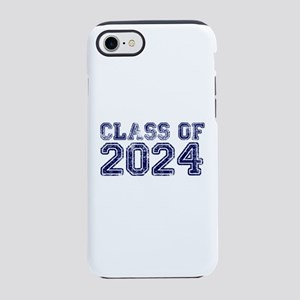 Class of 2024 iPhone 7 Tough Case