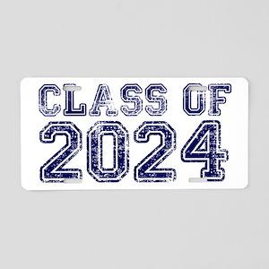 Class of 2024 Aluminum License Plate