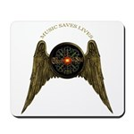 Music Saves Lives - Wings 2 Mousepad