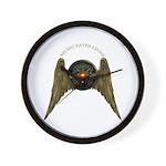 Music Saves Lives - Wings 2 Wall Clock