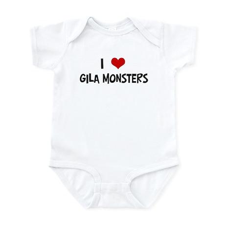 I Love Gila Monsters Infant Bodysuit
