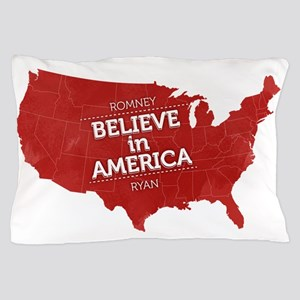 Believe in America Pillow Case