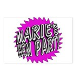 Maries Hen Party Postcards (Package of 8)