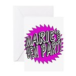 Maries Hen Party Greeting Cards
