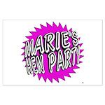 Maries Hen Party Poster Art