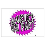 Maries Hen Party Poster Art
