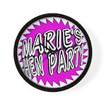 Maries Hen Party Wall Clock