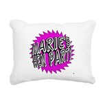 Maries Hen Party Rectangular Canvas Pillow