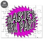 Maries Hen Party Puzzle