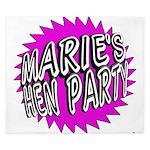 Maries Hen Party King Duvet