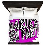 Maries Hen Party King Duvet