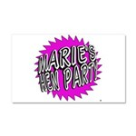 Maries Hen Party Car Magnet 20 x 12