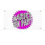 Maries Hen Party Banner