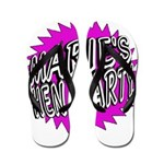 Maries Hen Party Flip Flops