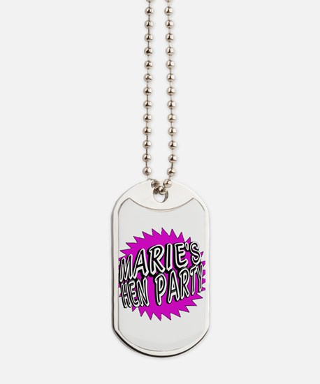 Maries Hen Party Dog Tags