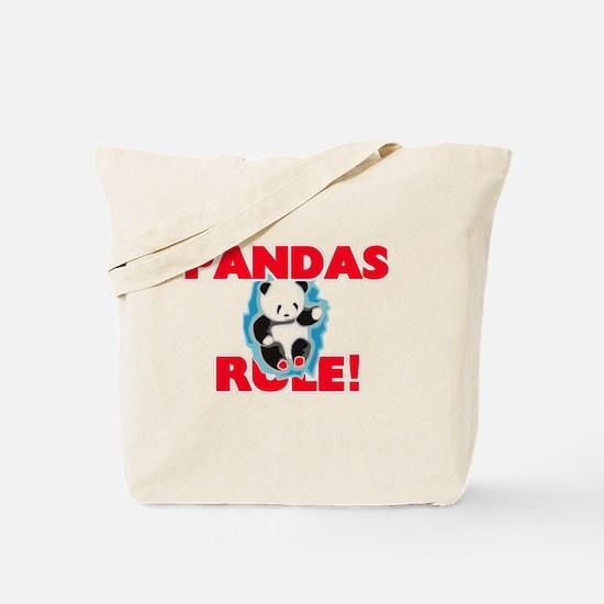 Pandas Rule! Tote Bag