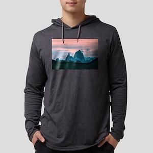 Mount Fitz Roy, Patagonia, Arg Long Sleeve T-Shirt