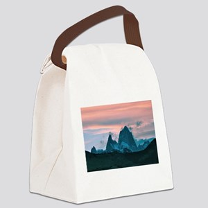 Mount Fitz Roy, Patagonia, Argent Canvas Lunch Bag