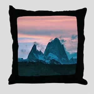 Mount Fitz Roy, Patagonia, Argentina Throw Pillow