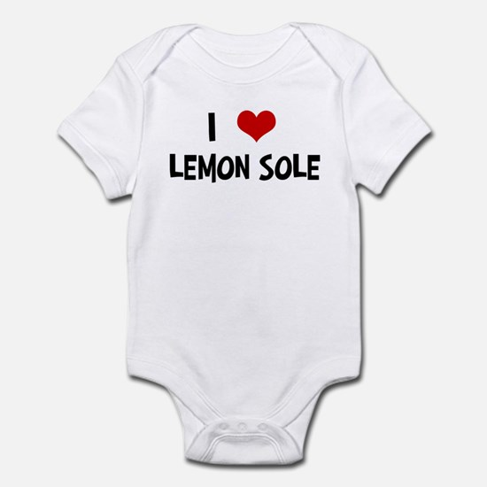 I Love Lemon Sole Infant Bodysuit
