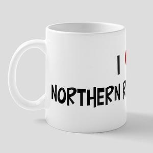 I Love Northern Right Whales Mug