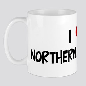 I Love Northern Anchovies Mug