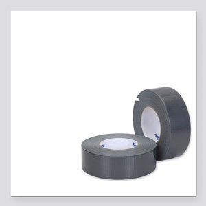 """Duct Tape since 1942 for Square Car Magnet 3"""" x 3"""""""