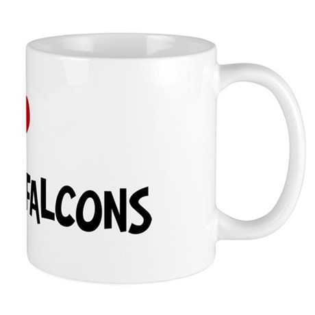 I Love Peregrine Falcons Mug