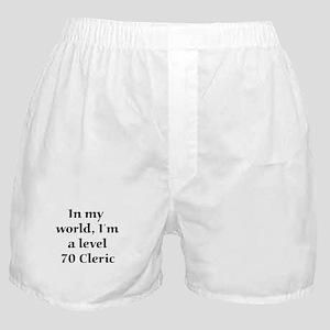 Level 70 Cleric Boxer Shorts