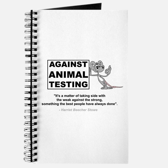 Against Animal Testing Journal
