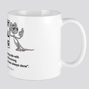 Against Animal Testing Mug