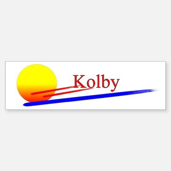 Kolby Bumper Stickers