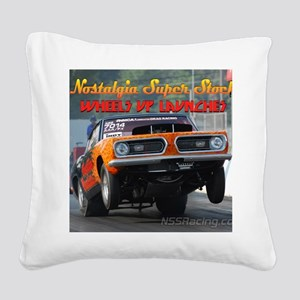 cover2 Square Canvas Pillow