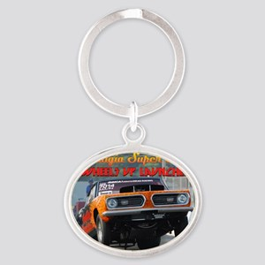 cover2 Oval Keychain