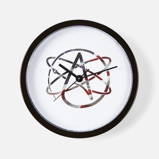 Unique Atheist Wall Clock