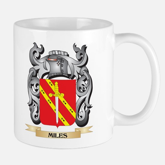 Miles- Coat of Arms - Family Crest Mugs