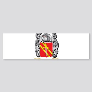 Miles- Coat of Arms - Family Crest Bumper Sticker