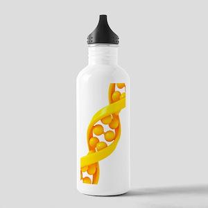 DNA molecule, artwork Stainless Water Bottle 1.0L