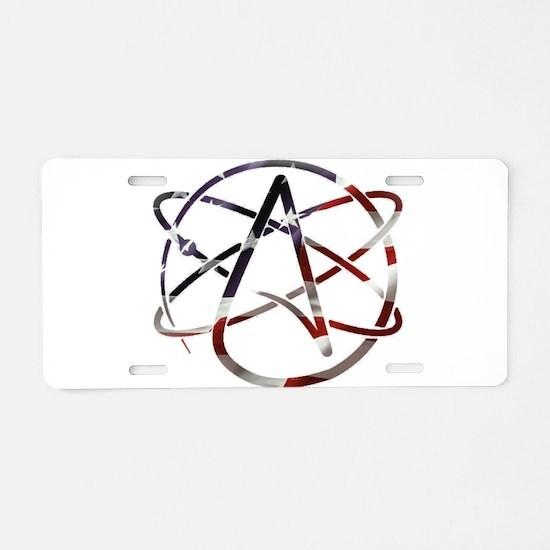 USA Proud Aluminum License Plate