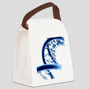 DNA molecule Canvas Lunch Bag