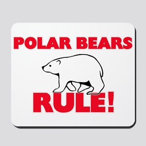 Polar Bears Rule! Mousepad