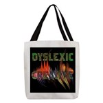 Dyslexic Creative Polyester Tote Bag