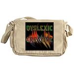 Dyslexic Creative Messenger Bag