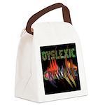 Dyslexic Creative Canvas Lunch Bag